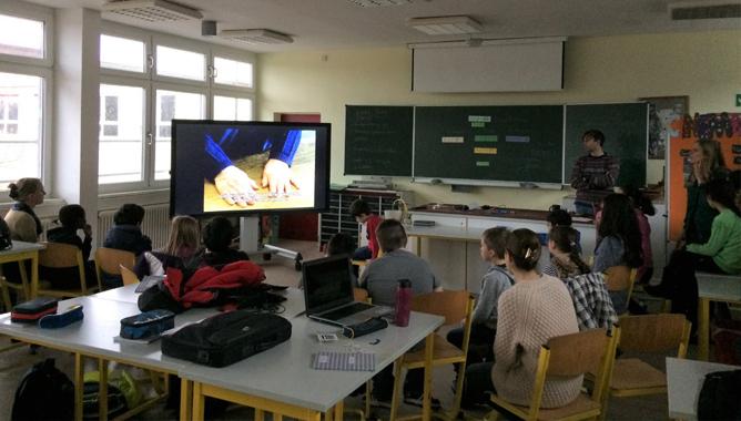 Foto Filmrezeption im Klassenzimmer